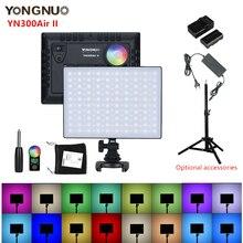 Yongnuo YN300Air II YN 300 Air Pro RGB LED Camera Video, tùy Chọn Với Bộ Pin Sạc Chụp Ảnh + Bộ Chuyển Đổi Nguồn Điện
