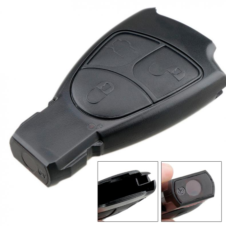 3 Buttons Car <font><b>Key</b></font> Smart Shell Case Replacement <font><b>Remote</b></font> Cover Fit for Mercedes Benz W168 W202 W203 W208 W210 <font><b>W211</b></font> image