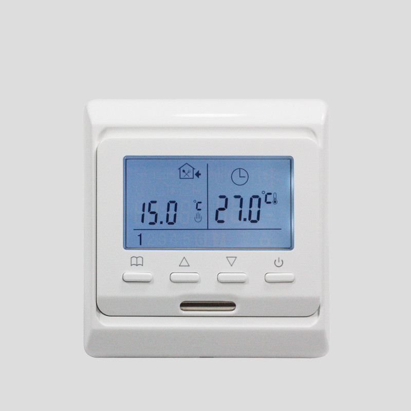 M6.716 220V 16A LCD Programmable Electric Digital Floor Heating Room Air Thermostat Warm Floor Controller