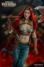 In Stock PL2019-140A/B BLeague 1/6 Steam Punk Red Sonja Action Figure Head Body Clothes Weapon Full Set Doll Model for Fans Gift in stock 1 6 scale zh009 ancient roman soldier full set model action figure for fans gifts with box