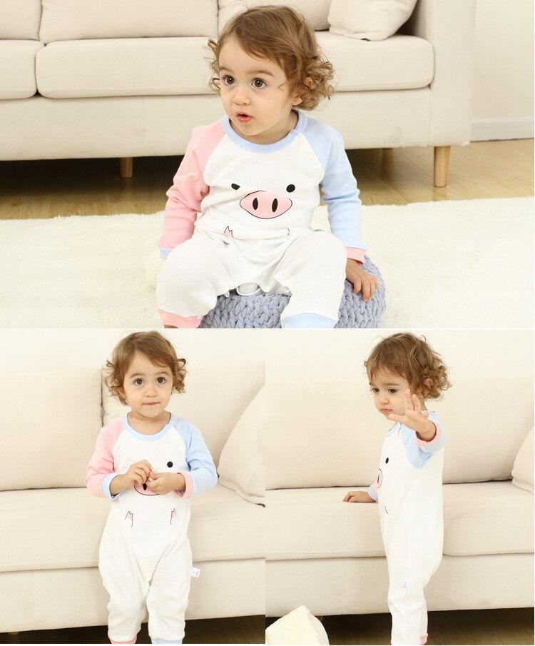 2020 Newborn Baby Spring-Autumn Cotton Clothing Orangemom Baby Christmas Gift Romper Boys Animal Costumes Boutique Pajama Roupa | Happy Baby Mama
