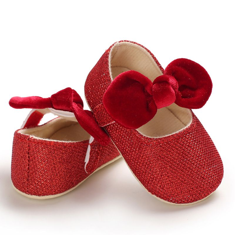 Floral Baby Pram Soft Sole Prewalker Newborn Toddler Girl Crib Shoes Anti-slip Baby Shoes 0-18M