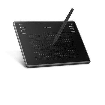 HUION H430P 4x3 pouces ultra-léger stylo numérique tablette graphique dessin tablette avec stylet sans batterie (parfait pour osu)