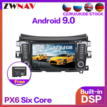 4+64 Android 9.0 Car Stereo Smart Multimedia DVD Player GPS for NISSAN NP300 Navara Terra FM Video radio tape recorder head unit image
