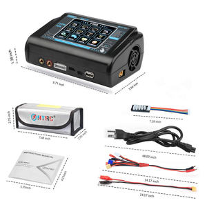 Image 5 - HTRC RC Charger AC/DC 150W 10A T150 Touch Balance Smart Charger Discharger for LiPo LiHV LiFe Lilon NiCd NiMh Pb battery & Bag
