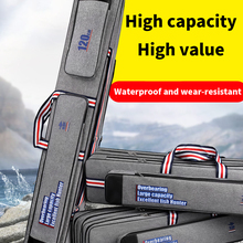 Pole-Tools Fishing-Tackle-Storage-Case Fishing-Rod Multifunction Waterproof 4-Layer Belly-Bag