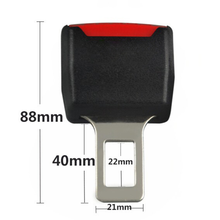 1Pc Car Extension Safety Buckle Seat Belt Card Holder Seat Belt Clip Car Carseat Universal Adjustable Seat Belt Clip Extender