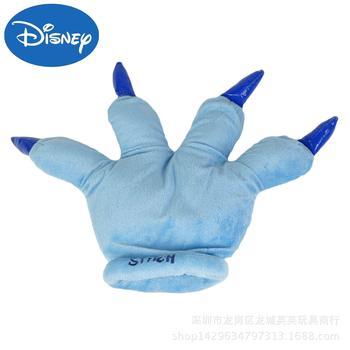 Disney Stitch rękawiczki ciepłe rękawiczki zimowe ciepłe rękawiczki pluszowa lalka zimowe rękawiczki ciepłe rękawiczki rękawiczki damskie rękawiczki skórzane tanie i dobre opinie Dzieci Unisex COTTON Poliester Cartoon Nadgarstek Nowość Stitch Gloves (single)