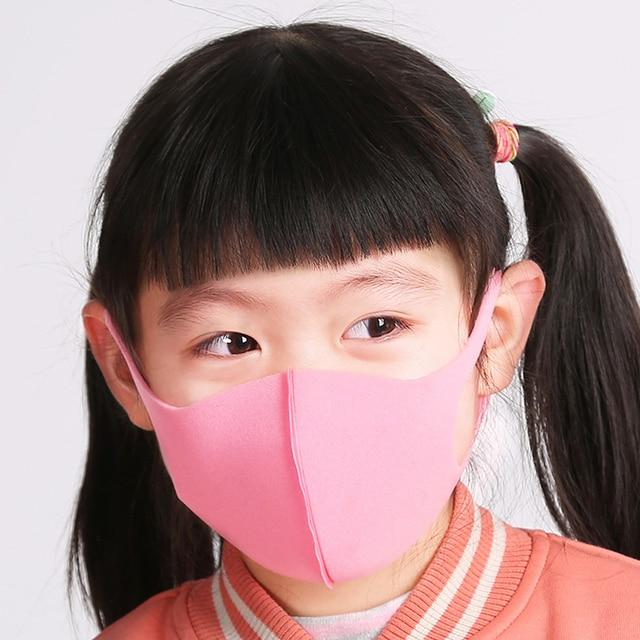 5Pcs Washable Earloop Mask Outdoor Mouth Face Mask Adult Kids Cold Prevention Masks 4