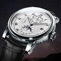 LOBINNI мужской роскошный бренд часов Moon Phase автоматические механические мужские наручные часы сапфир кожа мировое время relogio L16003-1