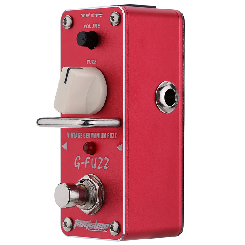 Aroma Agf-3 Guitar Pedal Fuzz Guitar Effect Pedal Vintage Germanium Mini Analogue True Bypass Guitar Parts&Accessories