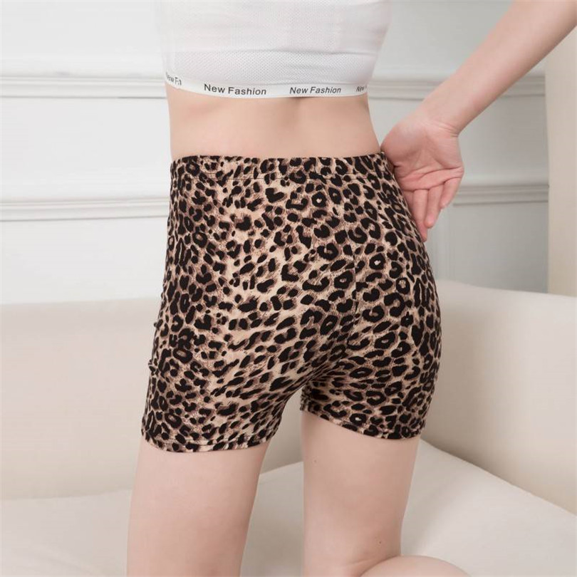 2020 New Sexy Shorts Women Printed Leopard Summer Waist Sports Shorts Floral Push Up Fitness Sports Casual Gym Hot Short