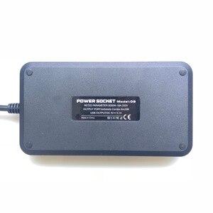 Image 3 - Listwa zasilająca inteligentne gniazdo USB Adapter ochronnik przeciwprzepięciowy 3 Way AC uniwersalne gniazda wtyczka elektryczna ue/usa UK/AU 2m przedłużacz