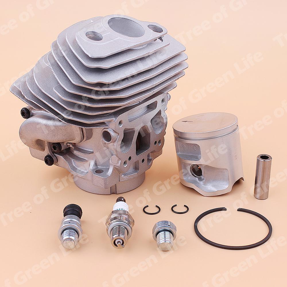Cylinder 46mm Piston 562XP Chainsaw Valve Husqvarna Kit Decompression Spark 560 For 575355803 Plug