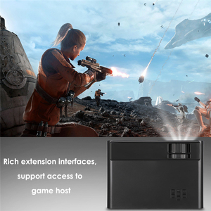 Image 5 - Portable WiFi Bluetooth LED Projector 1080P Home Theater Projector HDMI USB Home Cinema Projector Media Video Player 50 60W