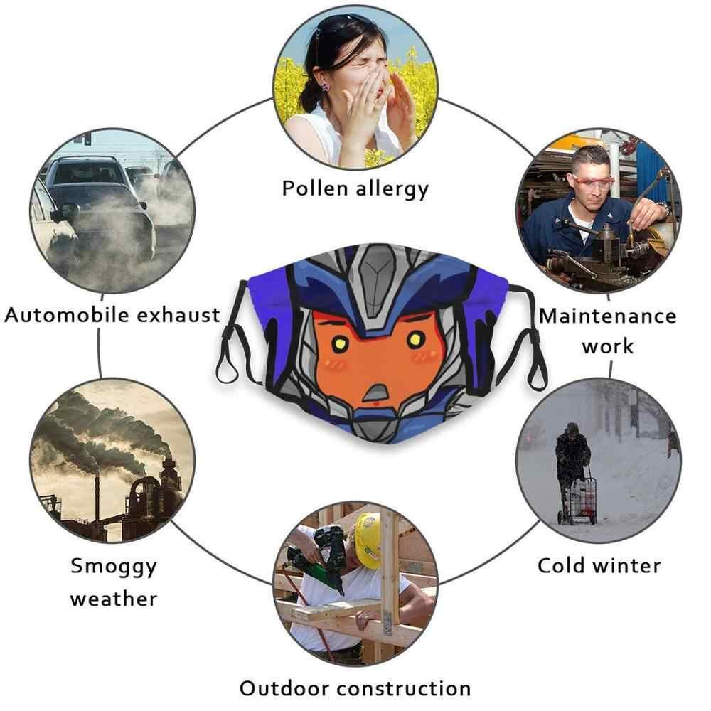 Чибикон пробой-Wut печати моющийся фильтр Анти-пыль рот маска поломки Bd Tfp Prime инопланетяне Роботы Робот Scifi