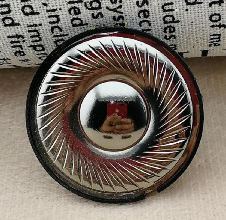 Original Headphone Speaker For Onkyo ES-FC300 Headphones DIY 40mm Headset Driver With Front Cover Titanium 2PCS