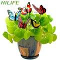 HILIFE 5 Pcs/Haufen Mit Pile Bunte Schmetterling Stakes Schmetterling Blumentöpfe Dekoration Outdoor Decor Garten Liefert-in Dekorative Einsätze & Windspinner aus Heim und Garten bei