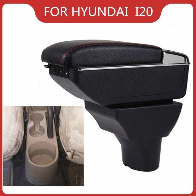 Купить автомобильный подлокотник для hyundai i20 elite аксессуары автомобиля