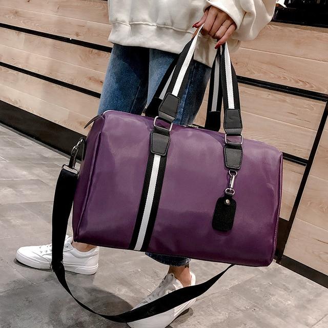 Women travel bag Korean Version Nylon luggage Duffle Cubes Bag Weekender Portable Waterproof Storage Fitness Folding Package 1