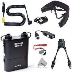 Godox PB960 Portable Extended Flash Power Battery Pack Kit Dual Output for Nikon SB910, SB900, SB800, SB28 Euro, SB28DX