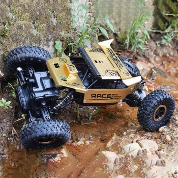 1:18 2.4G Rock Crawler Car Remote Control Toy Car Machine For Children Outdoor Toy Model Off-Road Vehicle Toys Christmas Gifts 1
