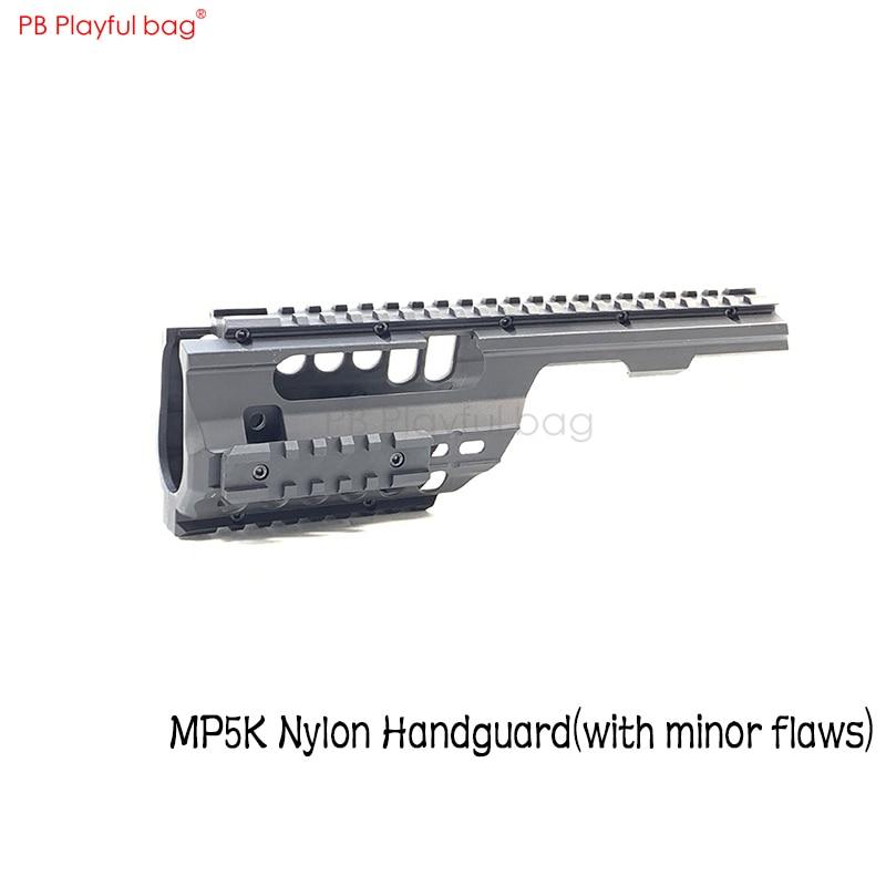 Playful Bag HQ Industrial MP5K Nylon Handguard Tactical Guide 20mm Handguard Refitting Accessory Water-bullet-toy-gun-parts OB38