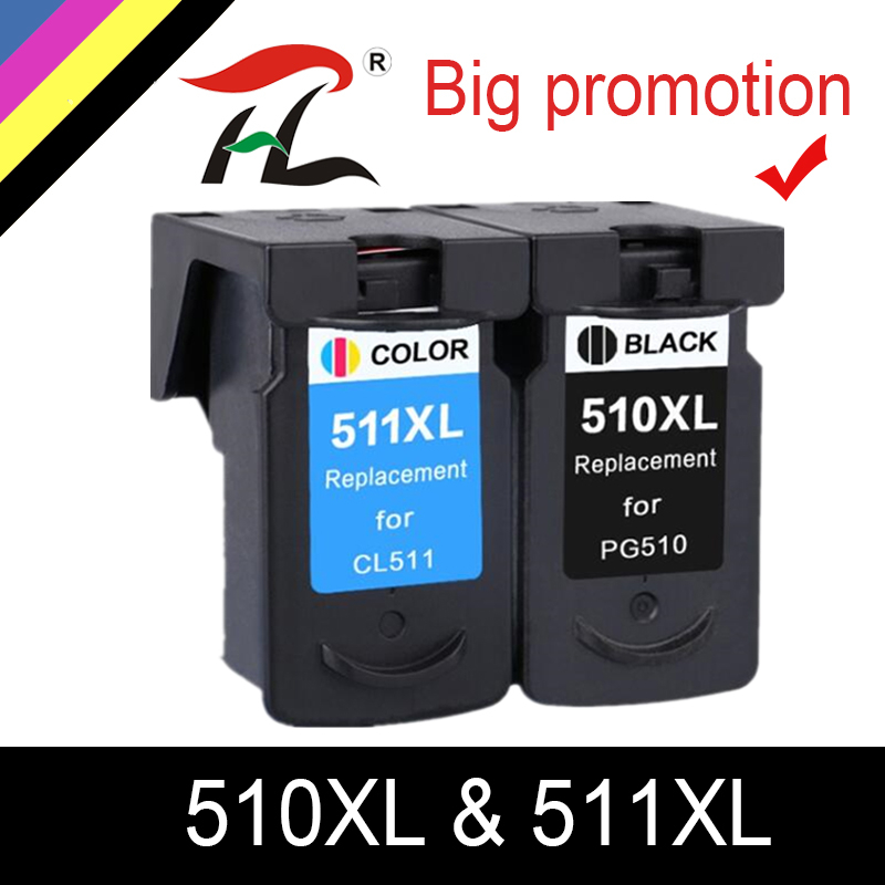 YLC PG510 CL511 <font><b>Ink</b></font> <font><b>Cartridge</b></font> Replacement for <font><b>Canon</b></font> PG 510 pg-510XL CL 511XL for MP240 <font><b>MP250</b></font> MP260 MP280 MP480 MP490 IP2700MP499 image
