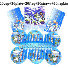 100PCS Disney Toy Story Party Supplies Theme Buzz Light Year Party Sets For Kids Birthday Party Supply Tablecloth Plate Cup Flag 100pcs disney toy story party supplies theme buzz light year party sets for kids birthday party supply tablecloth plate cup flag
