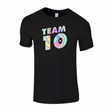 Equipe 10 jake paul jp cruz logan paul logan savage vlogger t camisa dos homens(China)