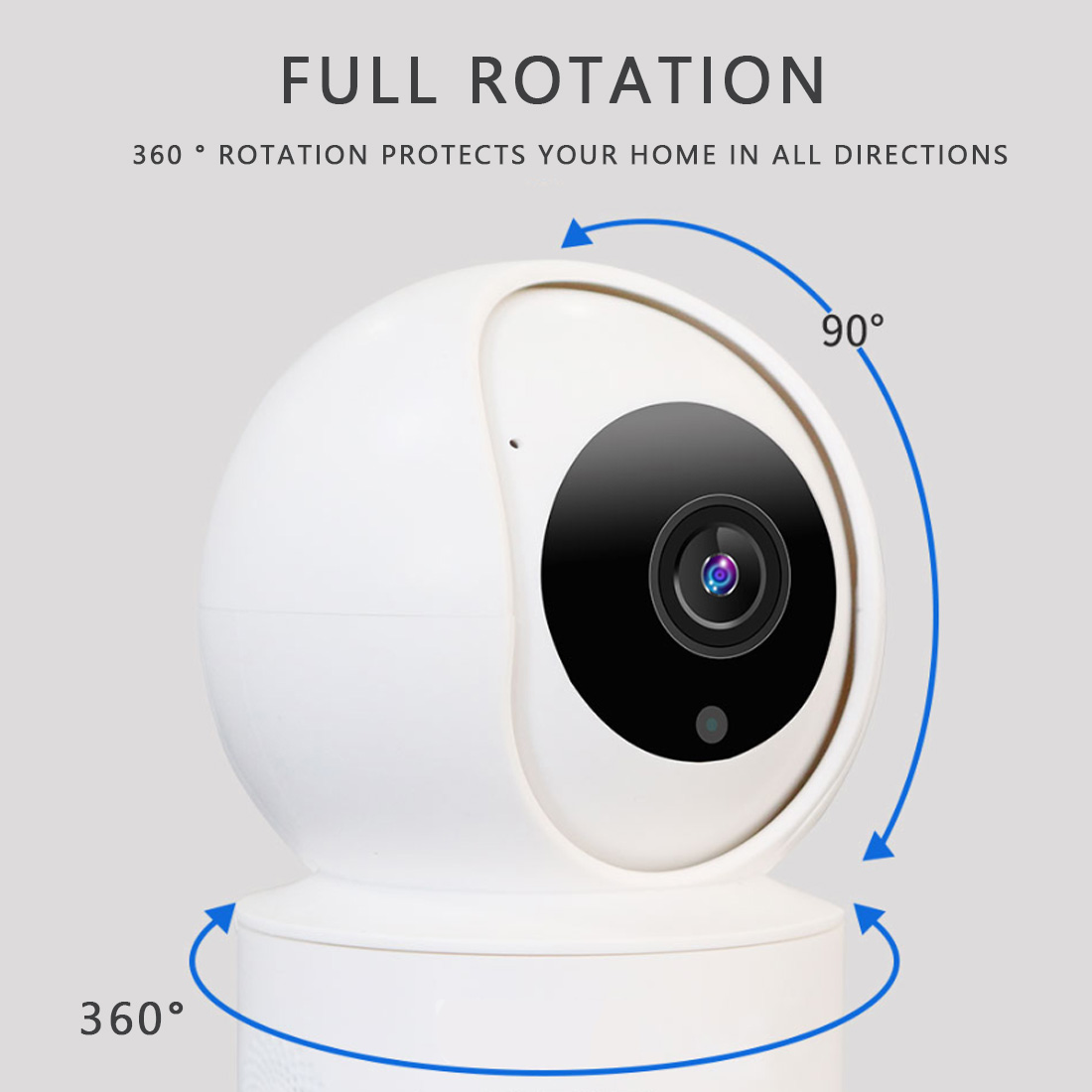 Surveillance Camera  360 Angle Fast Shipping Wifi Camera Home Security Baby Security Monitor IP Cam WiFi Night Vision Video