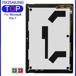 New LCD 100% Test For Microsoft Surface Pro 7 1866 LCD ORIGINAL Tablet replacement Display Touch Screen Digitizer Glass Assembly