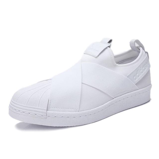 Original New Arrival  Adidas Originals SUPERSTAR SlipOn Unisex Skateboarding Shoes Sneakers 2