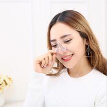 Venda quente silicone nariz modelador corrector para a beleza refinar o nariz mais magro elevador antironco rinoplastia afiação nariz