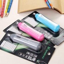 Borracha elétrica replacable recargas artigos de papelaria borrachas arte kawaii desenho suprimentos para lápis escritório para a escola