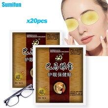 20pc/10 torby chińskie zioła wzrok Patch 100% naturalna maska na oczy łagodzi zmęczenie oczu krótkowzroczne niedowidzenie poprawić wzrok dobry Visio