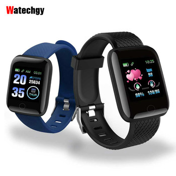 2020 D13 Smart Watches 116 Plus Heart Rate Watch Wristband Sports Band Waterproof Smartwatch Android A2 IWO - discount item  29% OFF Smart Electronics