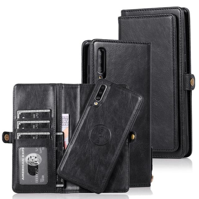 電話ケースA70 ヴィンテージ磁気閉鎖サムスンギャラクシーA51 A71 A40 注 20 超