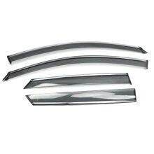 Пластиковые оконные козырьки, защита от ветра и дождя, защита от солнца, защитная крышка на вентиляционное отверстие для Peugeot 3008 3008 GT, аксессуары для стайлинга автомобиля 2017 2019