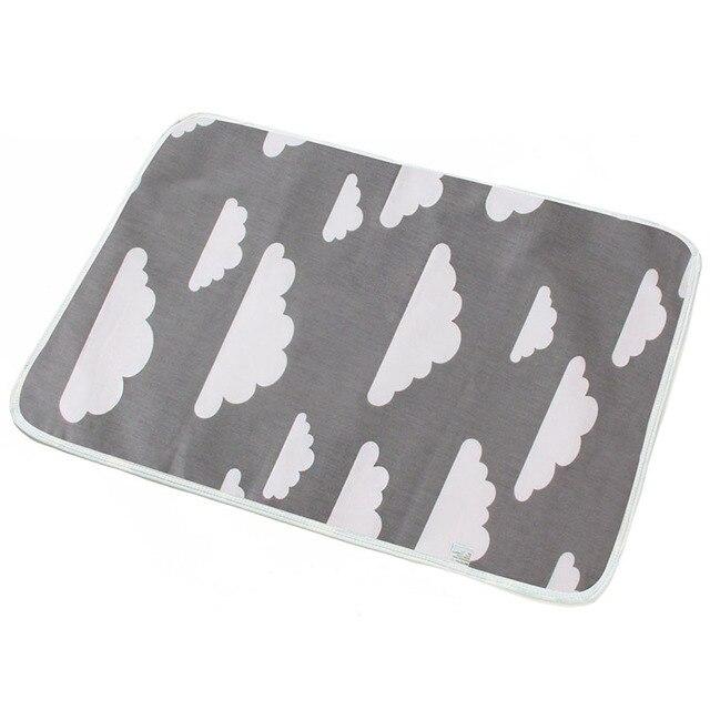 Grey Cloud baby changing mat