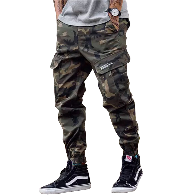 2020 Summer Cargo Pants For Men Camouflage Casual Jogger Pants Cargo Pants Woodland Camouflage Pants Men Tactical Pants Military