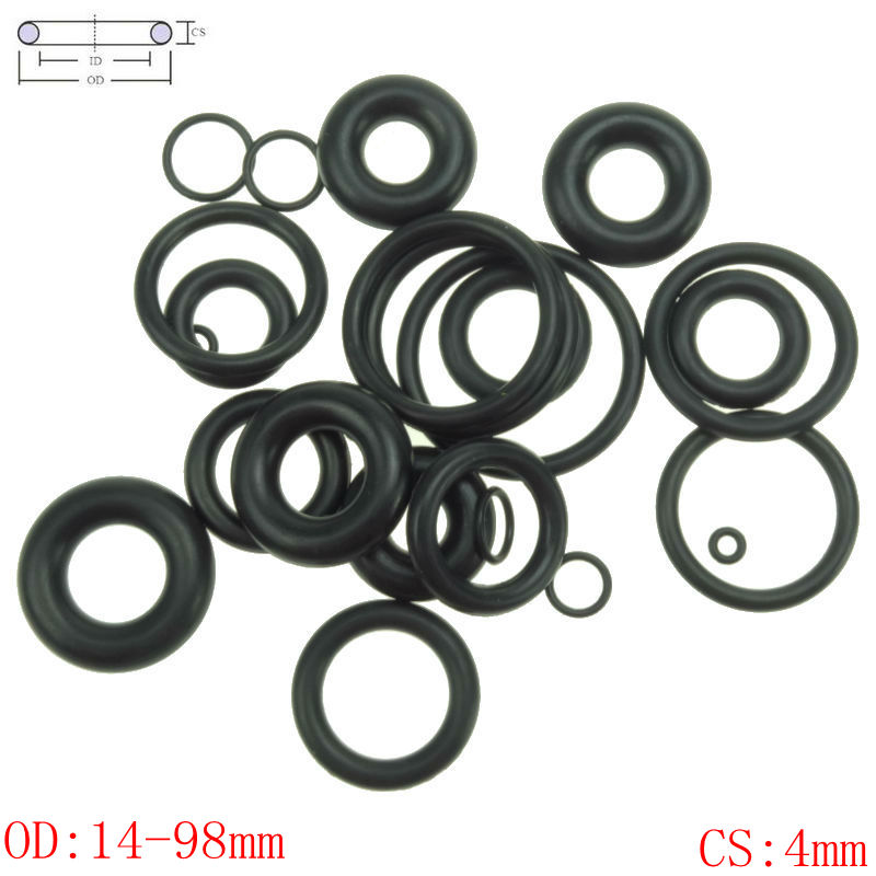 uxcell 19mm x 8mm x 3mm Rubber Seals Water Pipe Sealing Gasket Washer 20PCS