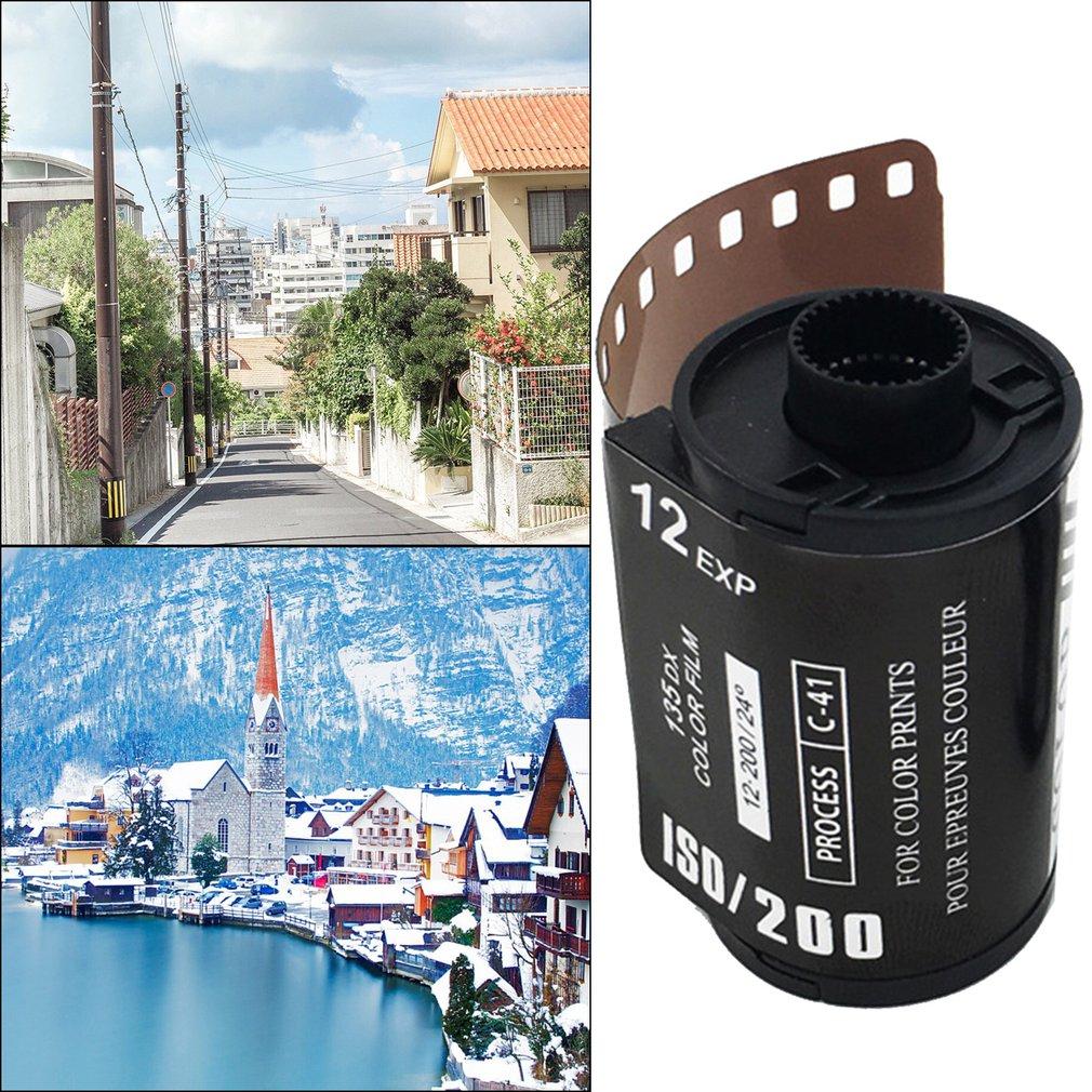 12 EXP ISO 400 цветная пленка для камеры Ретро пленка в форме сердца 135 отрицательная пленка для 35 мм водонепроницаемой камеры