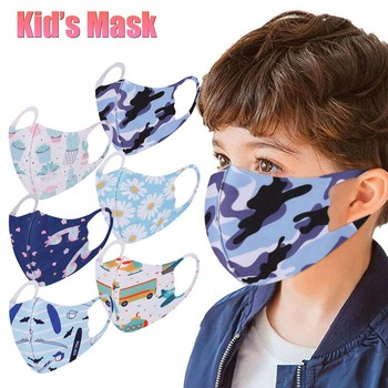 Children Kids Mouth Mask Mascara Washable Face Cover Outdoor Protection Toddler Reusable Mask mascarilla