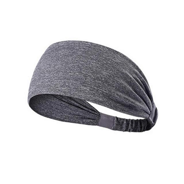 Women's Sports Belt Sports Headband Sweat Stretch Stretch Yoga Running Hood Fitness Sports Safety Headband 4