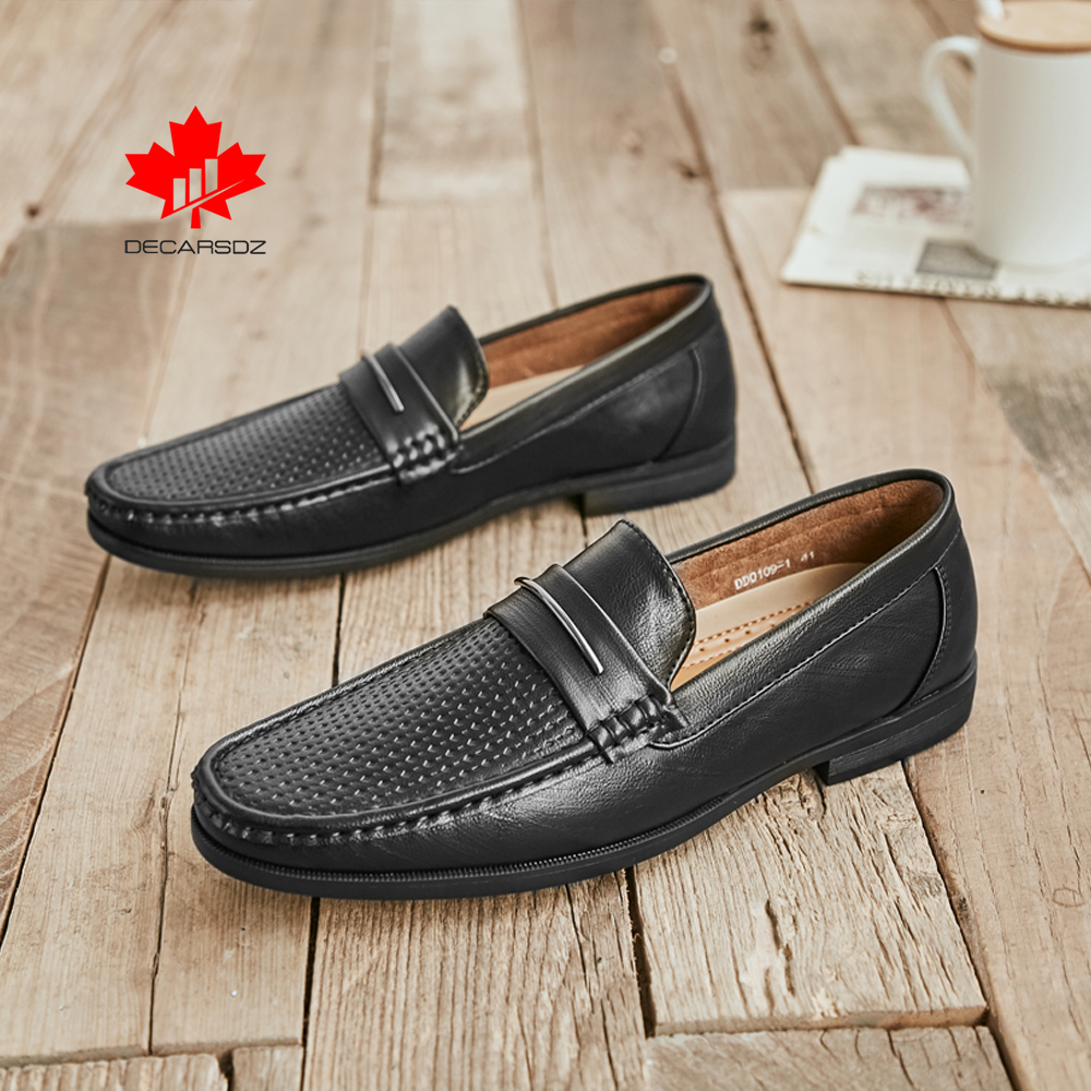 Men Loafers Shoes Male Brand Leather