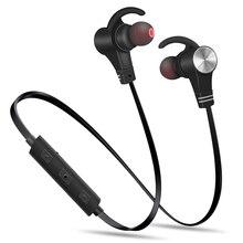 AHOLIC M8 auricolare Bluetooth senza fili magnetico gancio per lorecchio riduzione del rumore HD cuffie sportive Stereo Standby lungo senza cuciture impermeabile