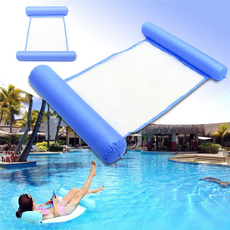 Summer Swimming Pool Water Hammock Floating Chair Floating Bed PVC ...