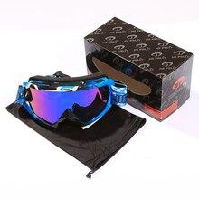 Ski Glasses Goggles Ski Skiing Snowboard Gafas Sports UV40 S