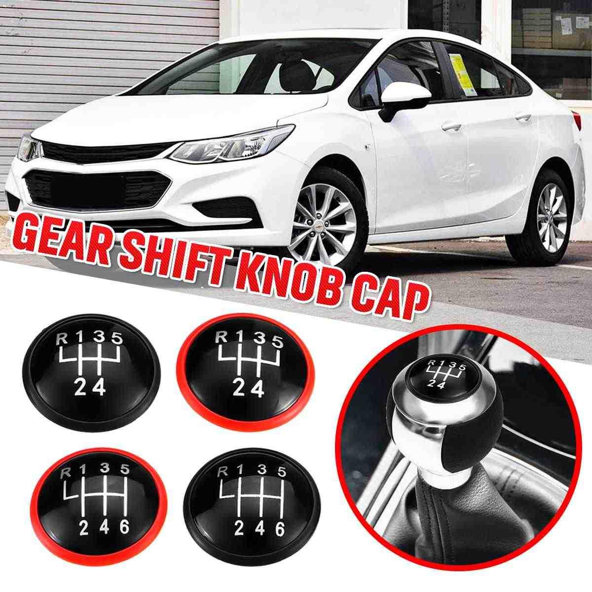 5/6 gałka skrzyni biegów pokrywa dźwignia zmiany biegów gałka górna czapki dla VW MK3 MK4 Golf/Jetta GTI Bora dla seat ibiza Caddy